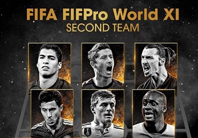 segundo equipo FIFPro
