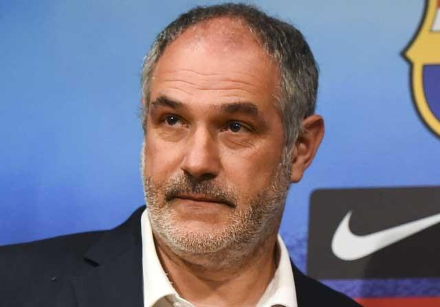 Zubizarreta fue el director deportivo del FC Barcelona