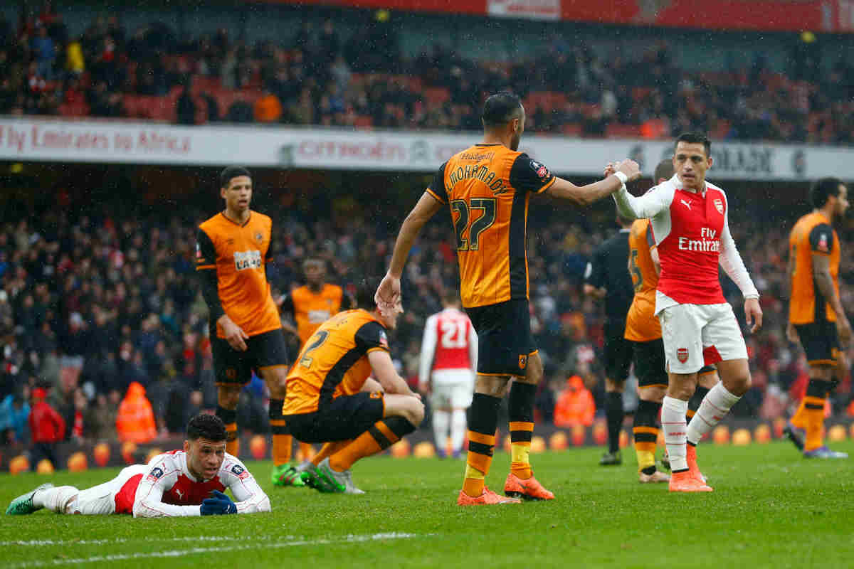 Arsenal vs Hull, de Fa Cup