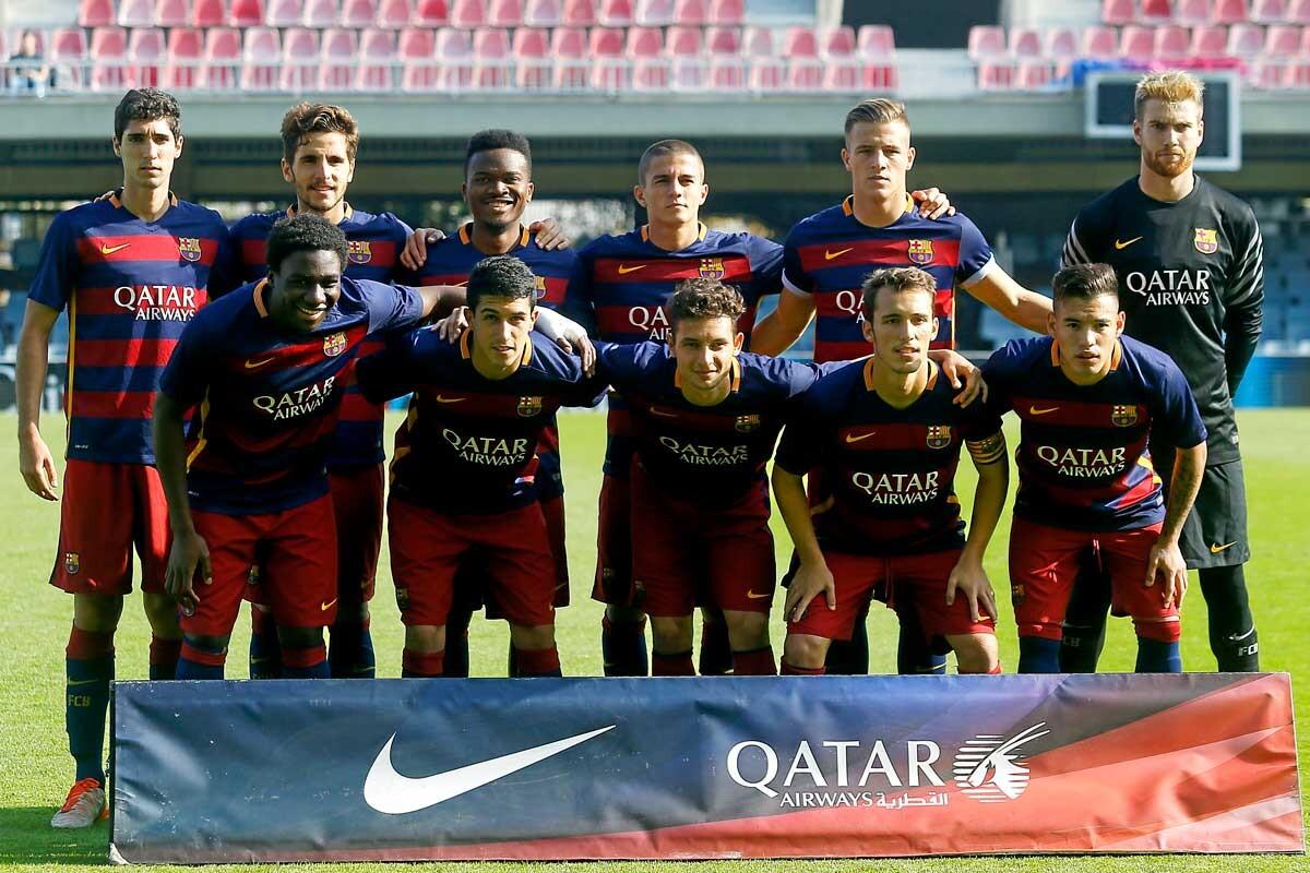 Once del Barcelona B ante el Llosetense
