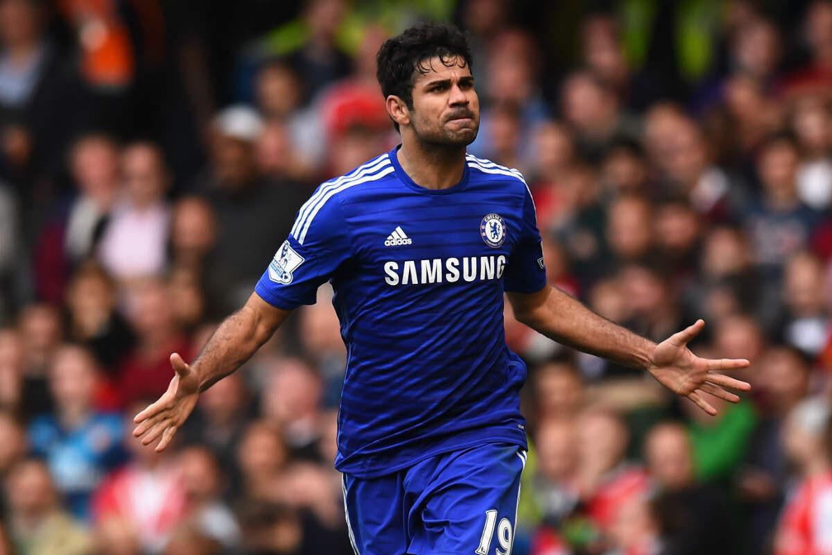 Diego Costa, del Chelsea