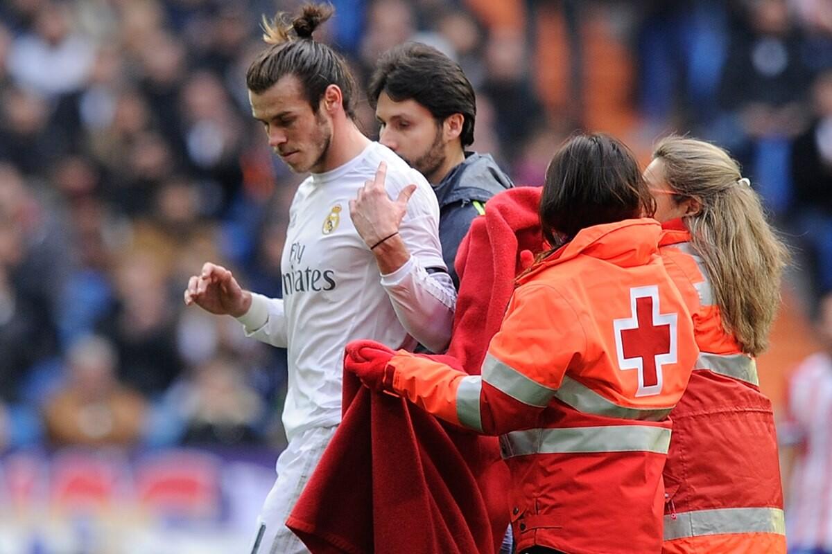 Gareth Bale y los servicios médicos del Real Madrid