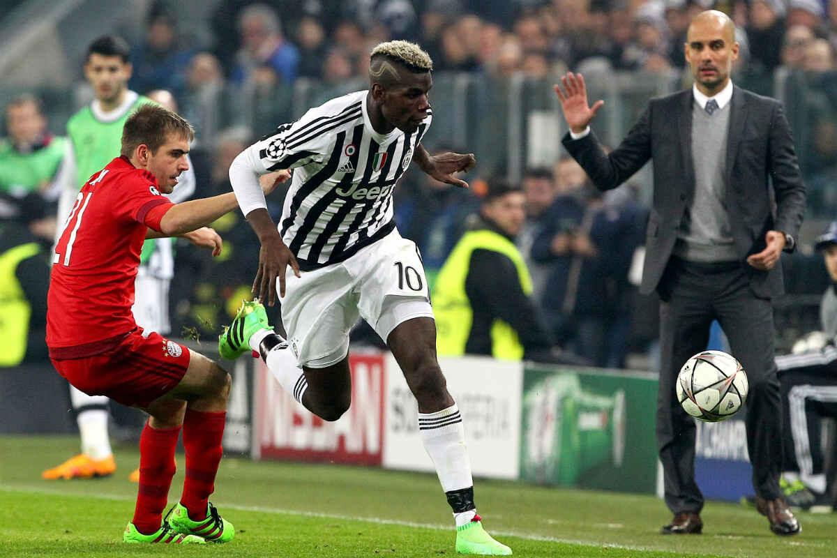 Juventus y Bayern han empatado a dos