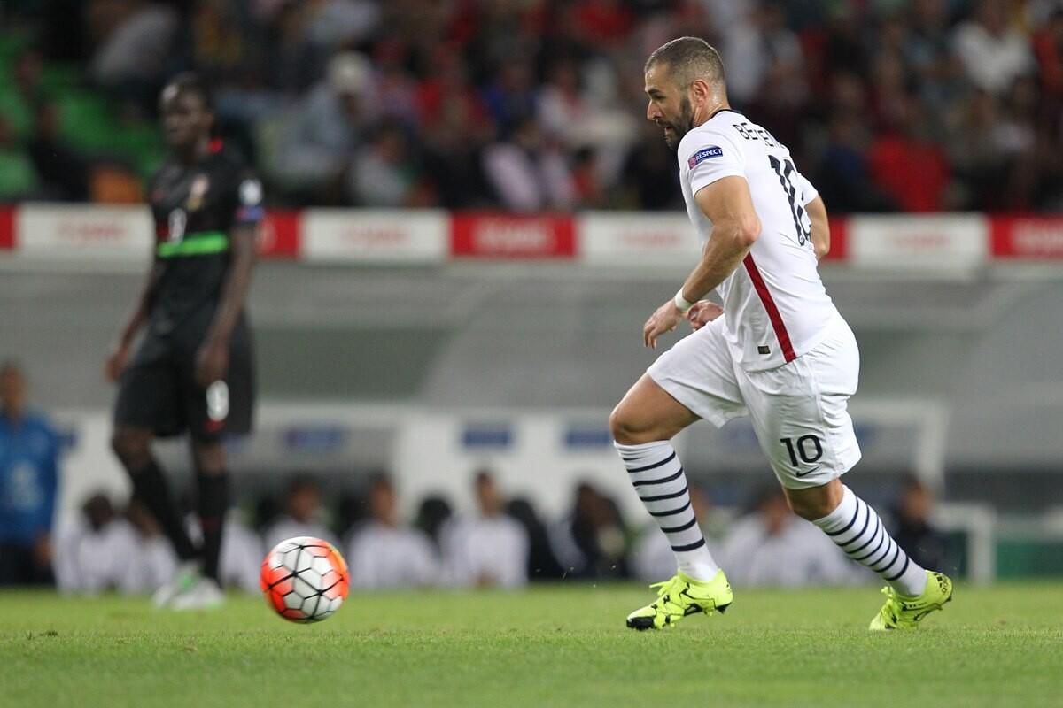 Karim Benzema podría jugar con Francia la Eurocopa