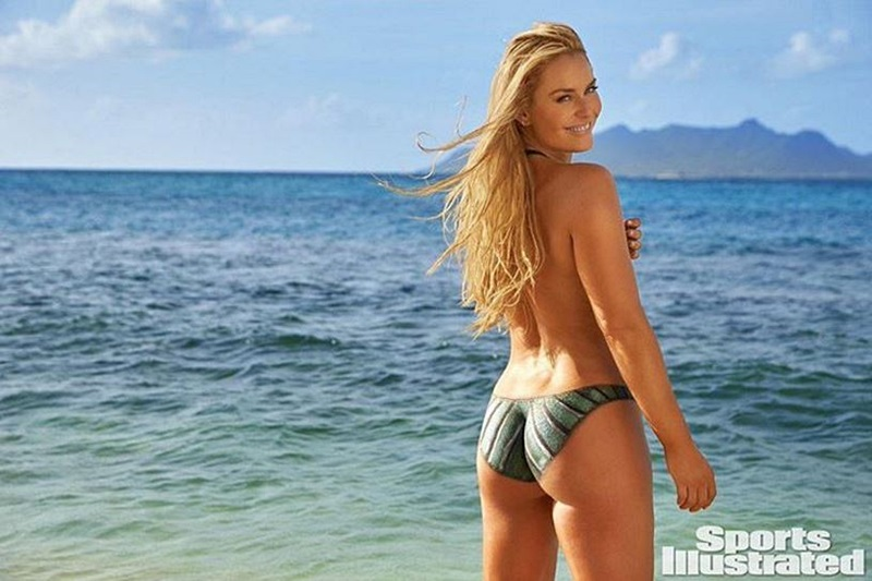 Lindsey Vonn en el swimsuit de Sports Illustrated