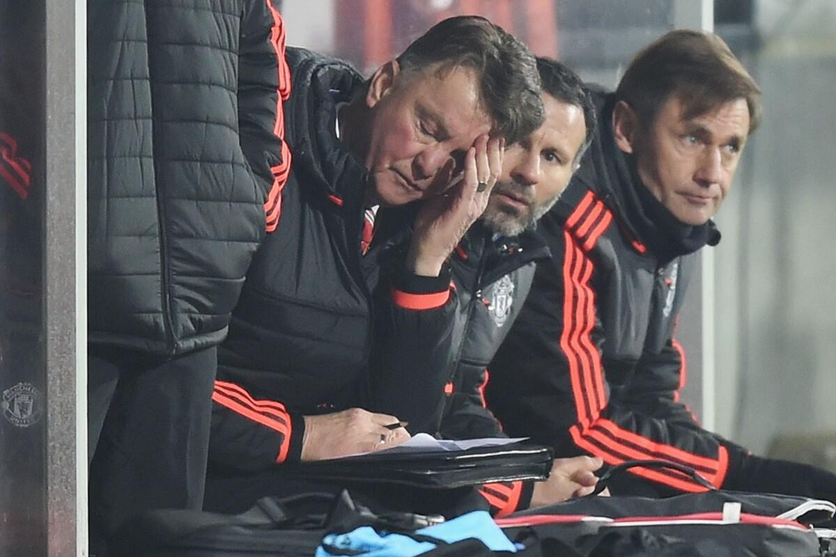 Louis Van Gaal en el FC Midtjylland - Manchester United