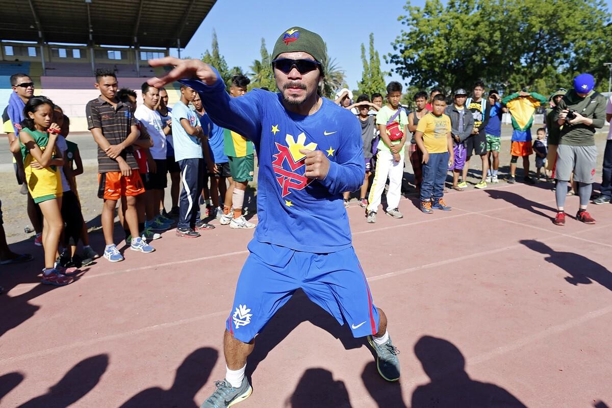 Manny Pacquiao ataca a los homosexuales