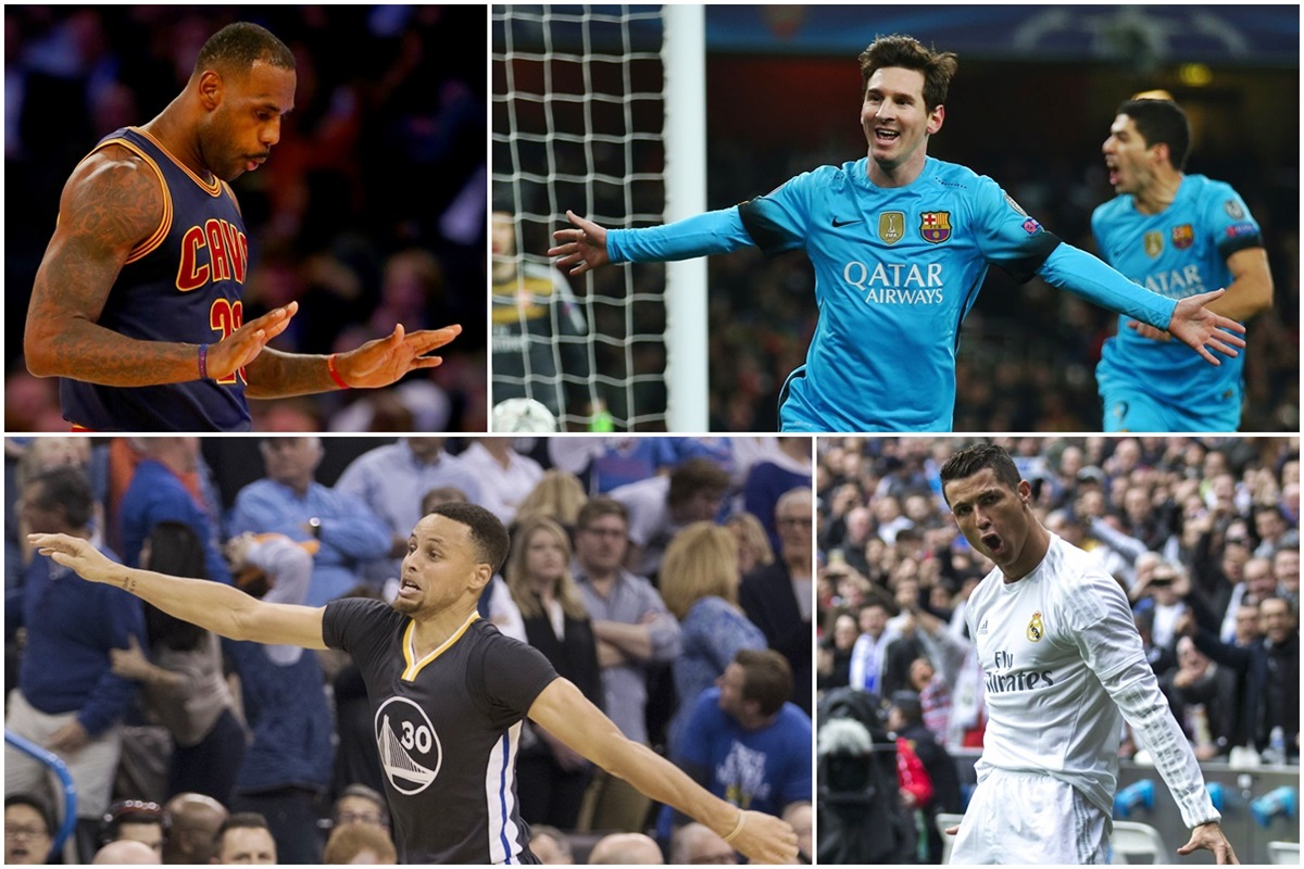 Comparan a Messi con Curry y a Cristiano, con Lebron James