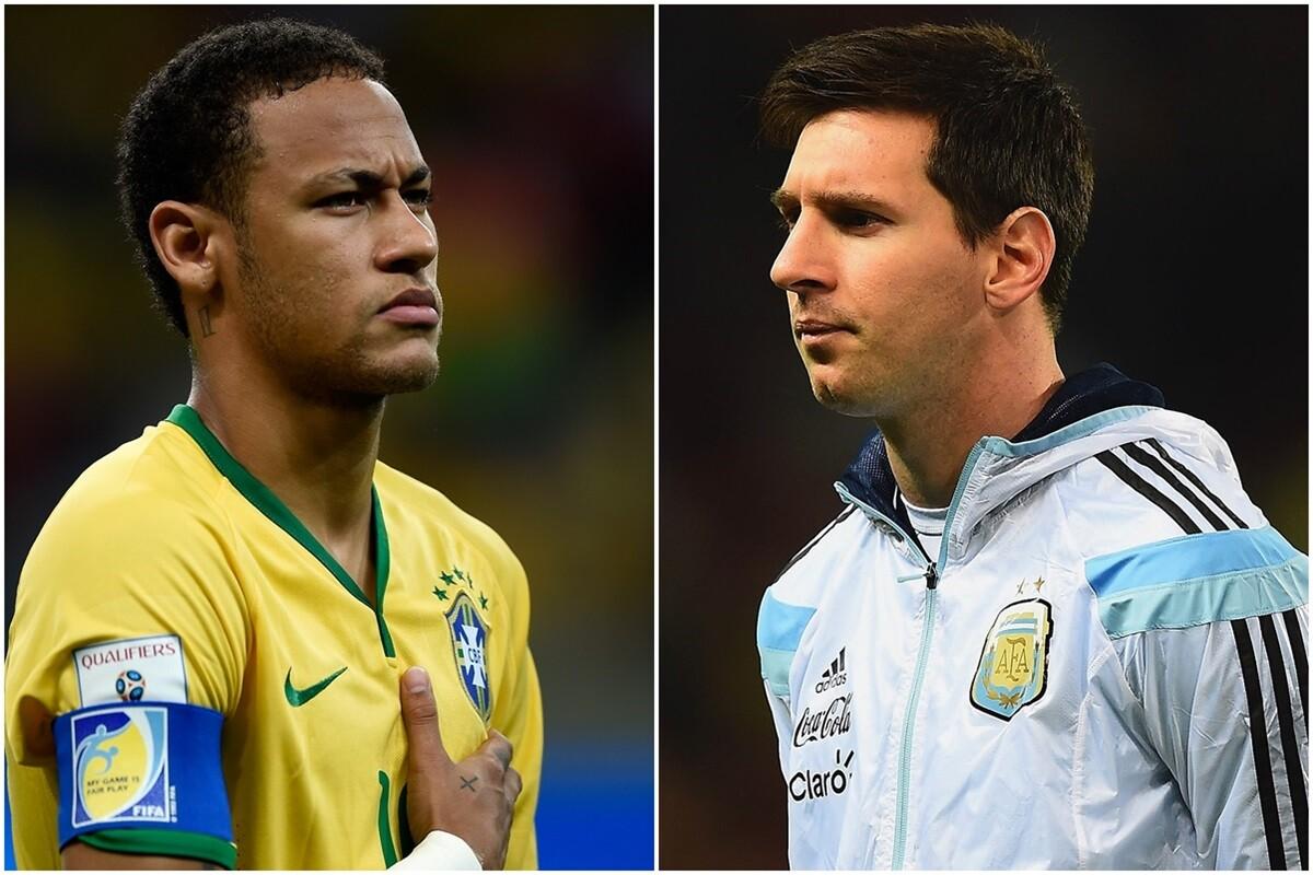 Messi y Neymar no se enfrentarán en la Copa América ni en los Juegos de Río