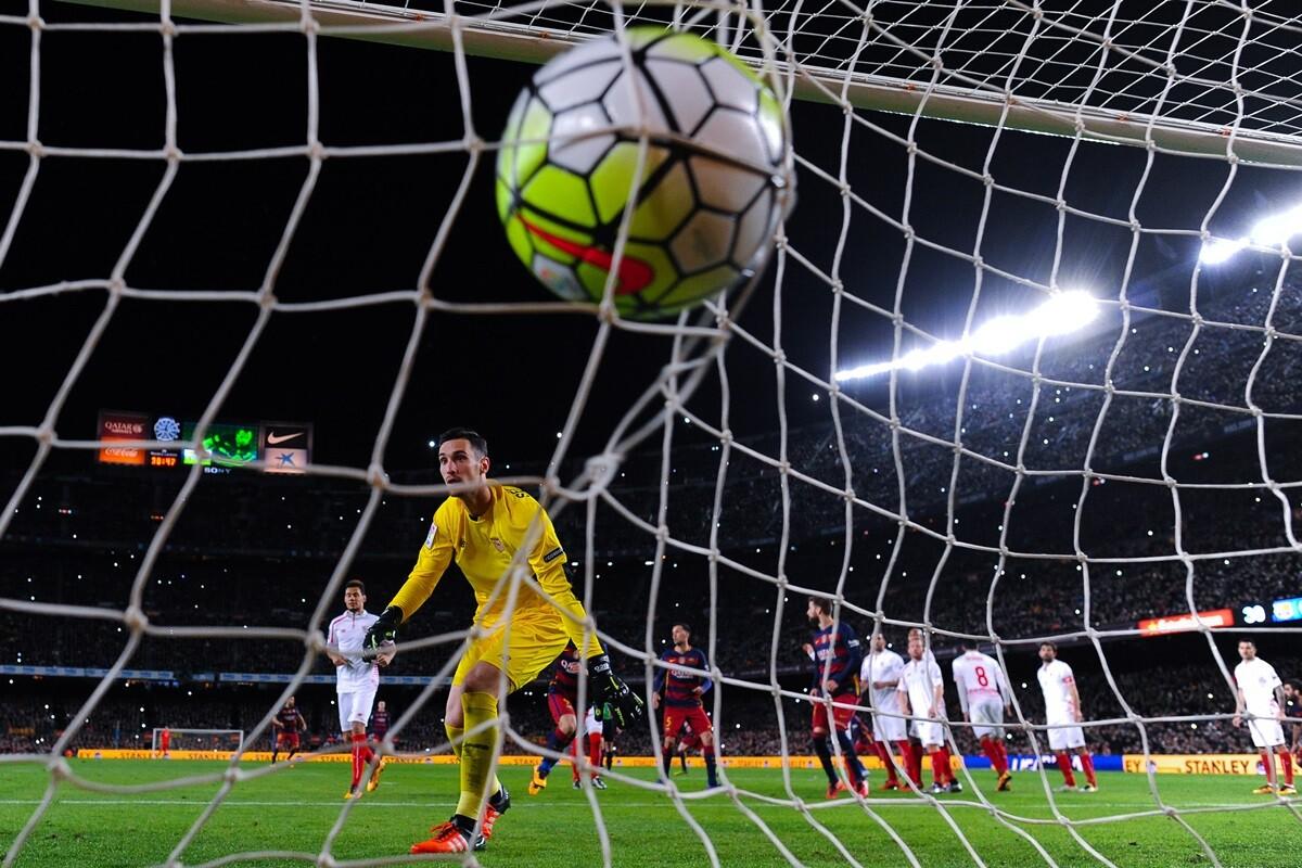 Messi y los lanzamientos de falta