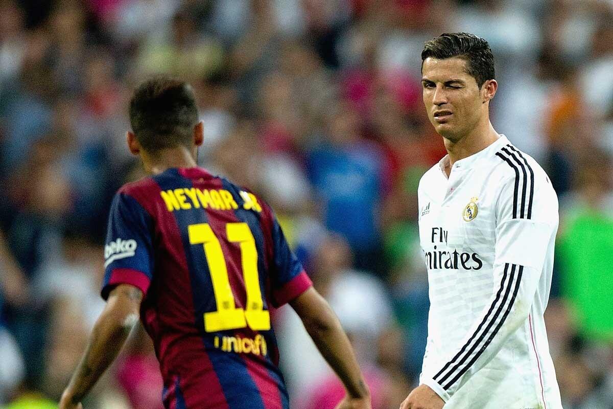 Neymar ve con buenos ojos que Cristiano Ronaldo fiche por el Barcelona