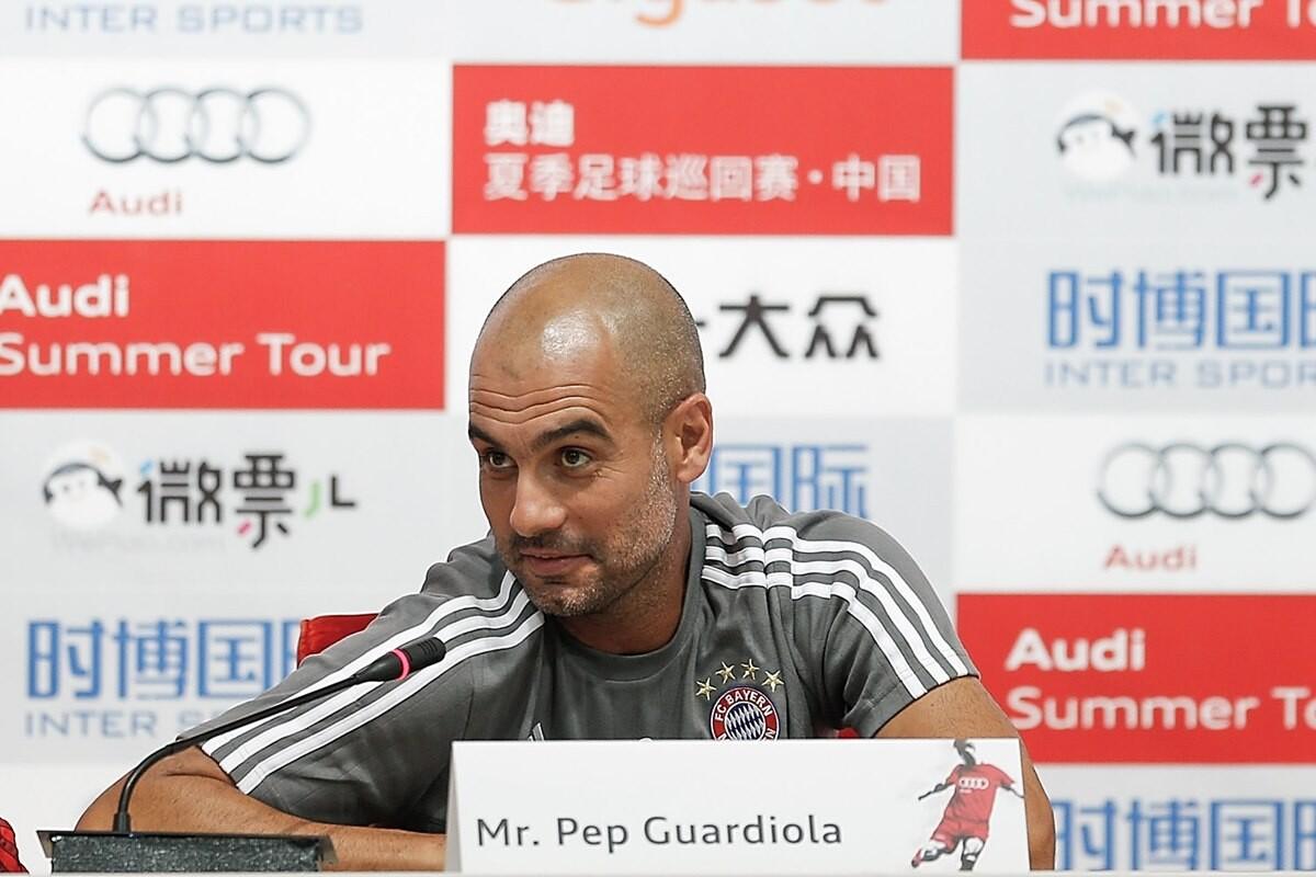 Pep Guardiola fichajes