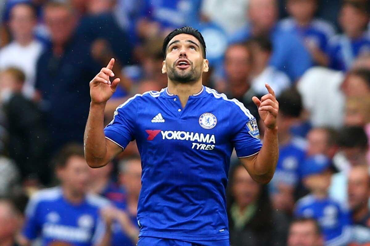 Radamel Falcao, jugador del Chelsea