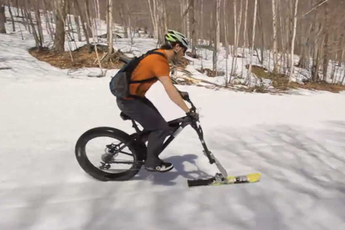 La bicicleta ski