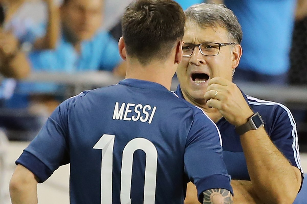 Tata Martino dice que Leo Messi no vive un disfrute pleno