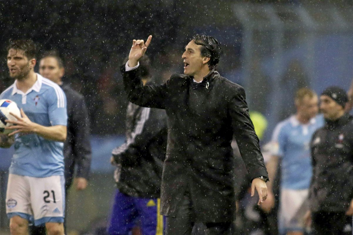 Unai Emery no quiere jugar la final de copa en el Camp Nou