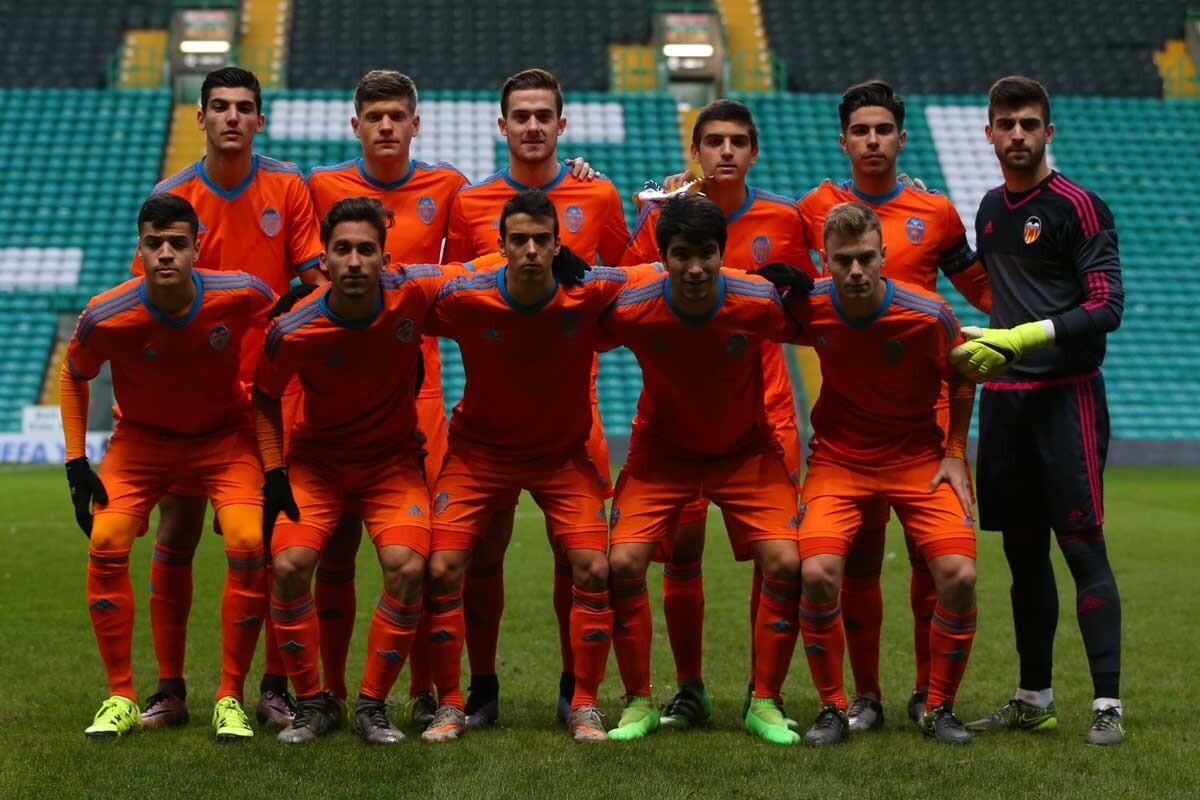 Equipo juvenil del Valencia