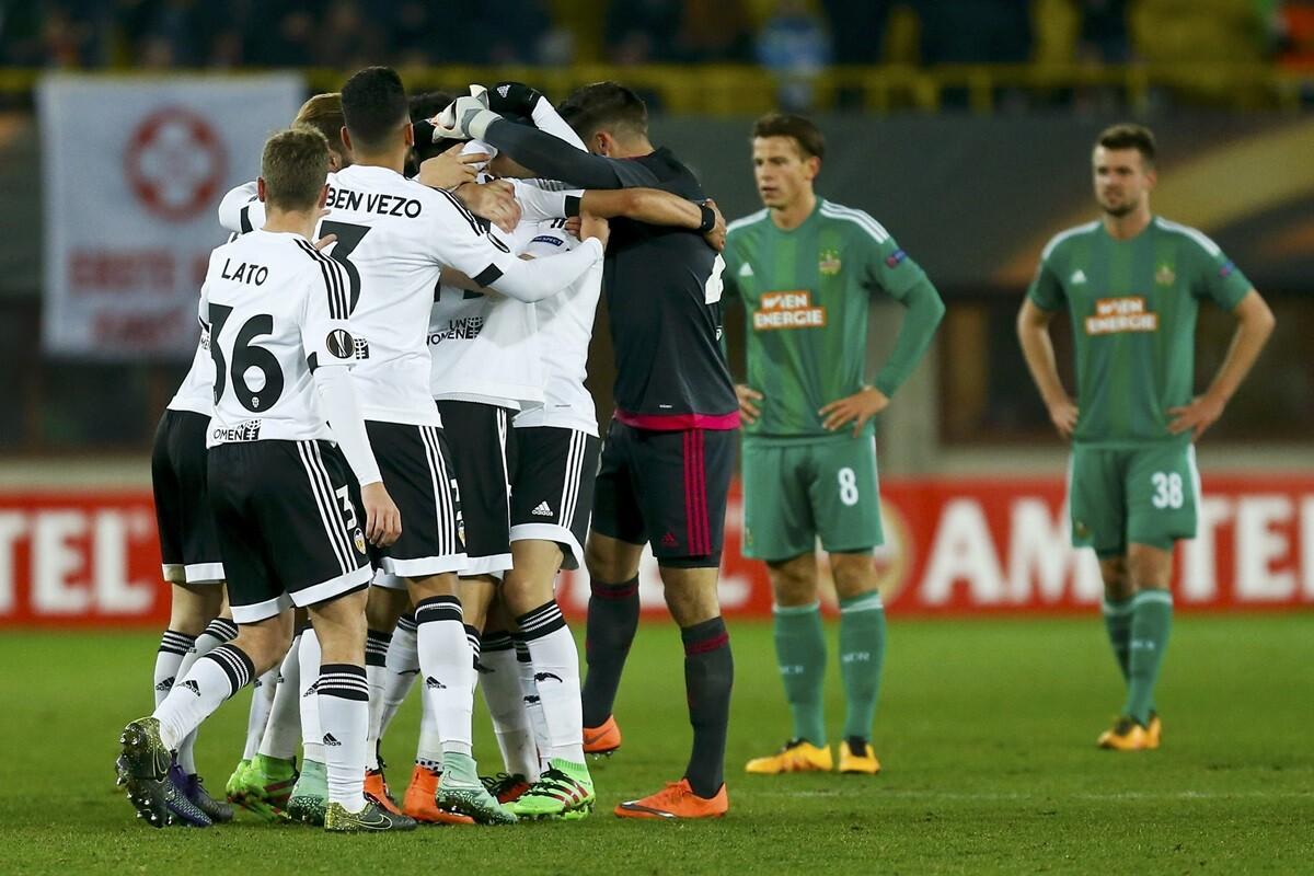 Valencia Rapid Viena UEL 10-0