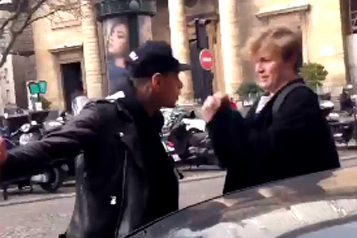 Incidente de Gregory van der Wiel en las calles de París