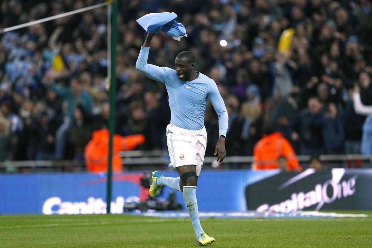 Yaya Toure, del Manchester City