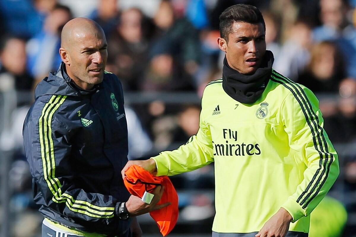 Zidane dice que Cristiano Ronaldo es el mejor del mundo