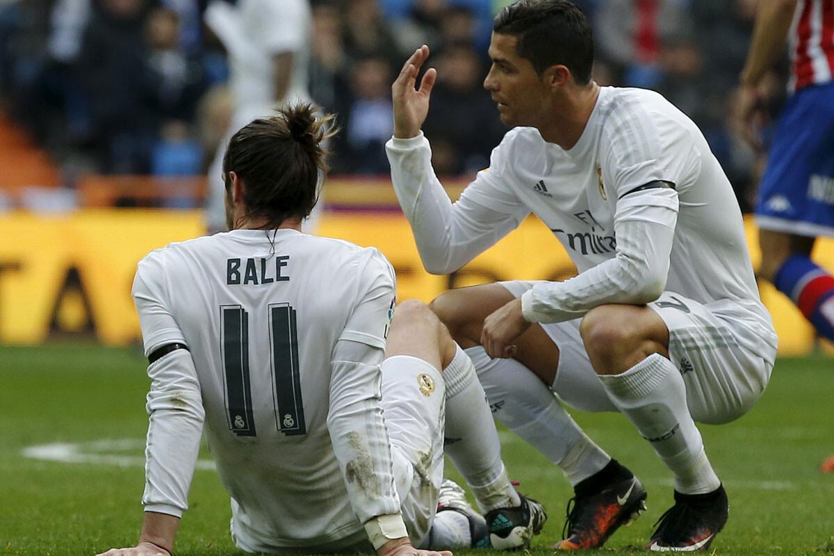 Gareth Bale ha sufrido numerosas lesiones en el Real Madrid