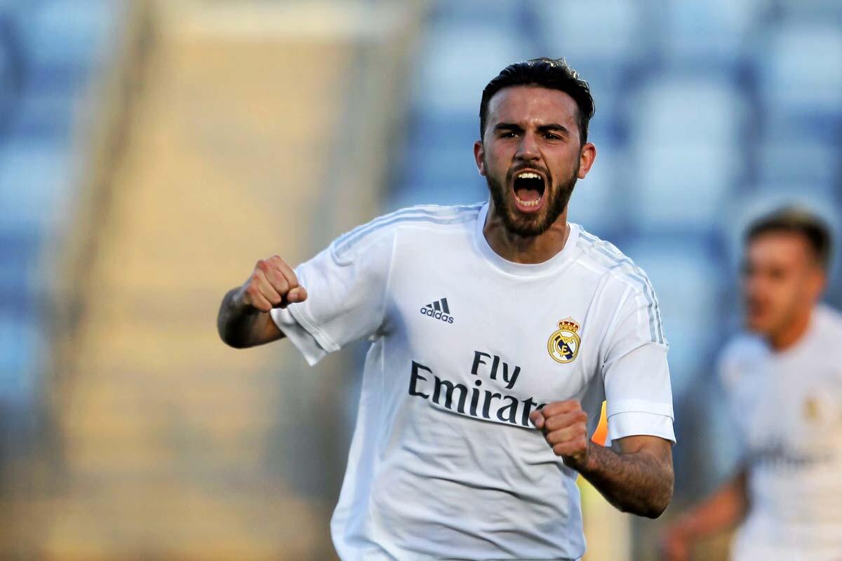 Borja Mayoral es jugador del Real Madrid Castilla
