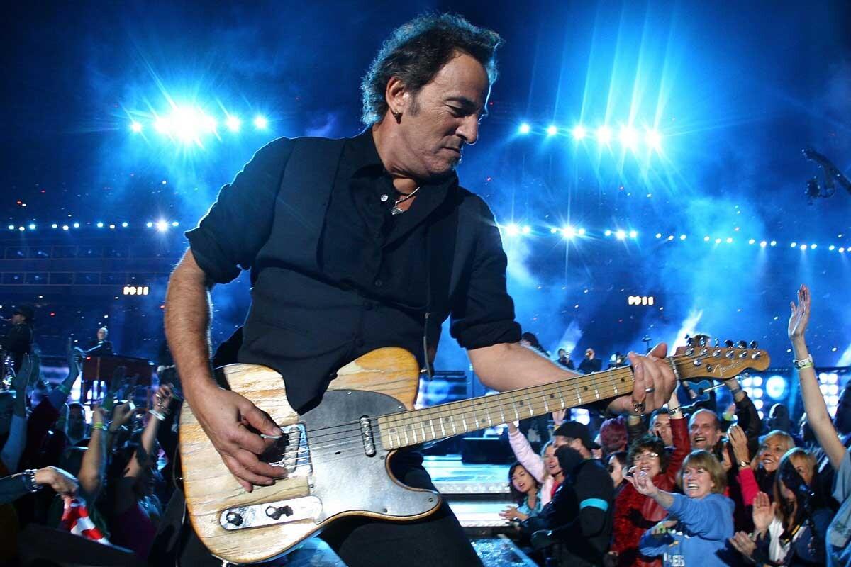 Bruce Springsteen es un afamado cantante