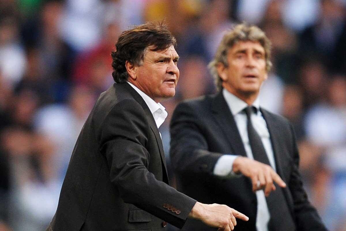 José antonio camacho fue entrenador del Real Madrid