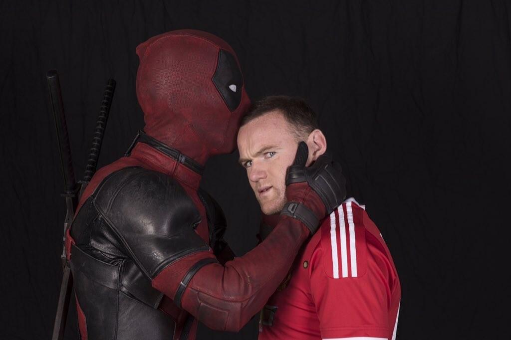 El sueño de Deadpool: fichar por el Manchester United
