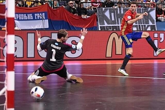 España, a la final del europeo de Futbol Sala