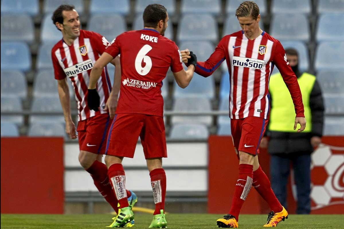 Fernando Torres es jugador del Atlético de Madrid