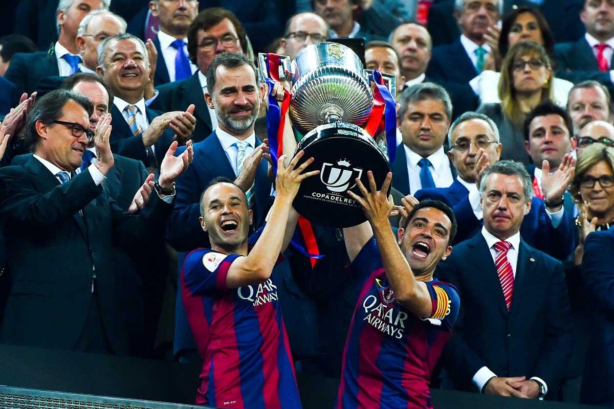 El Barcelona y el Athletic jugaron en el Camp Nou