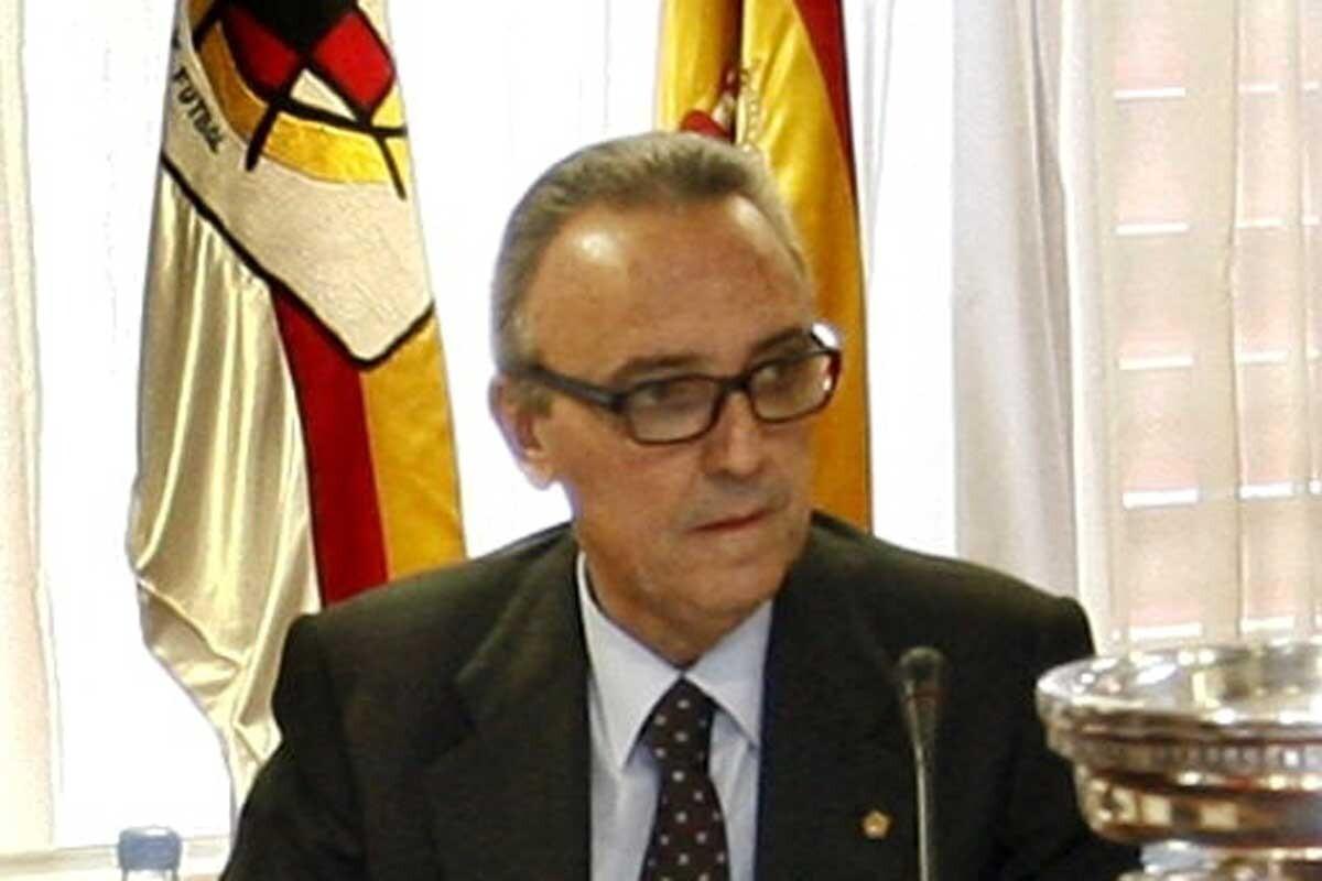 Joan Gaspart fue presidente del FC Barcelona