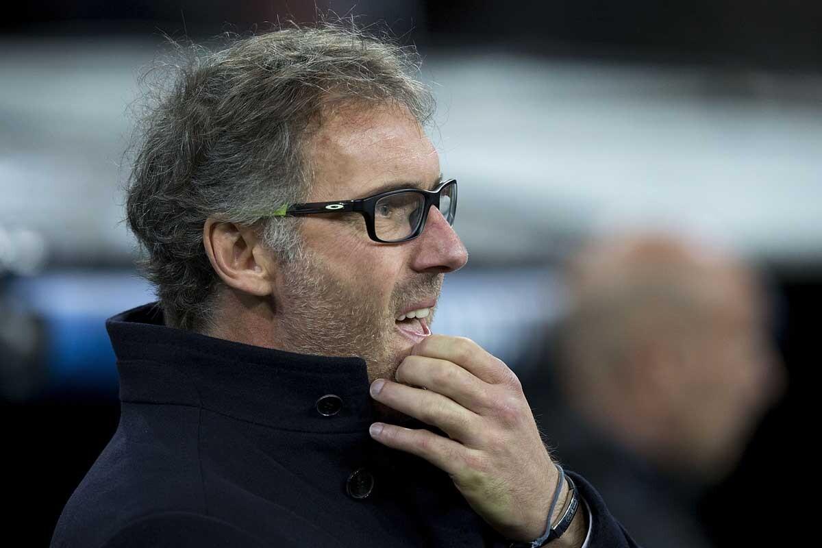 Laurent Blanc insultado por Serge Aurier