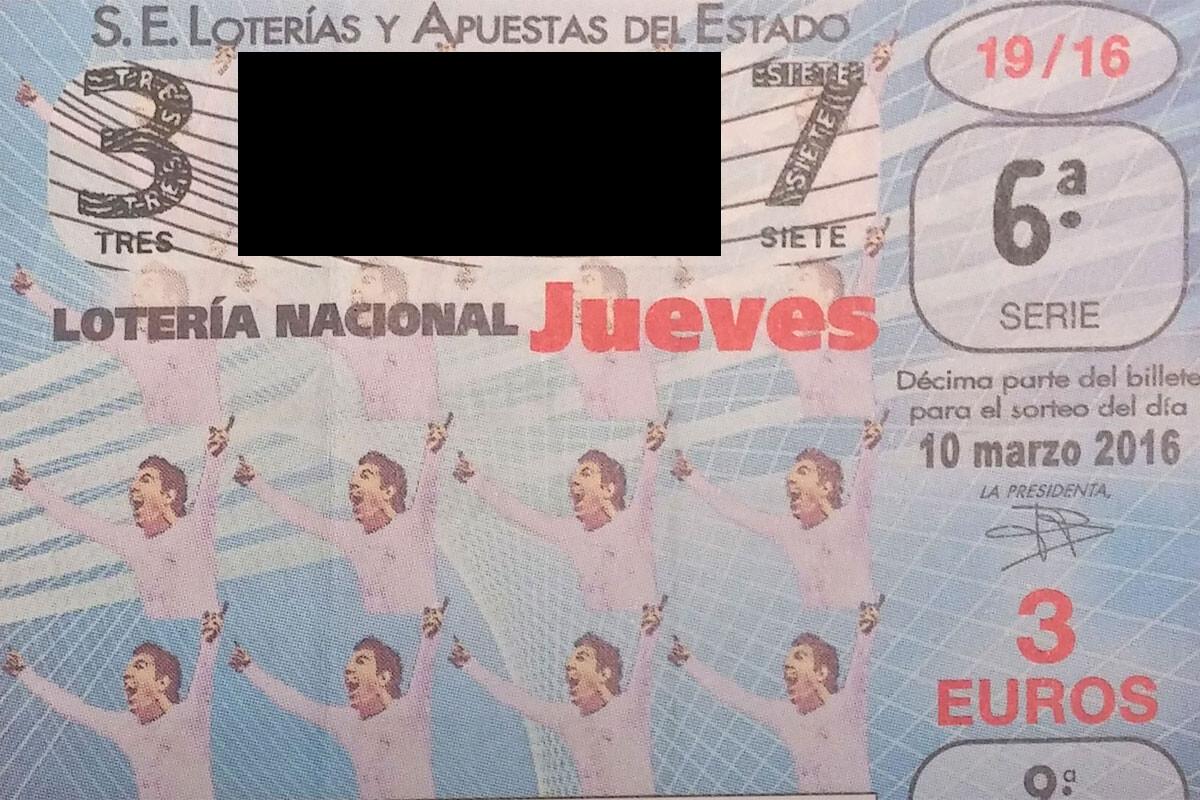 Lotería de la Fundación Juanito
