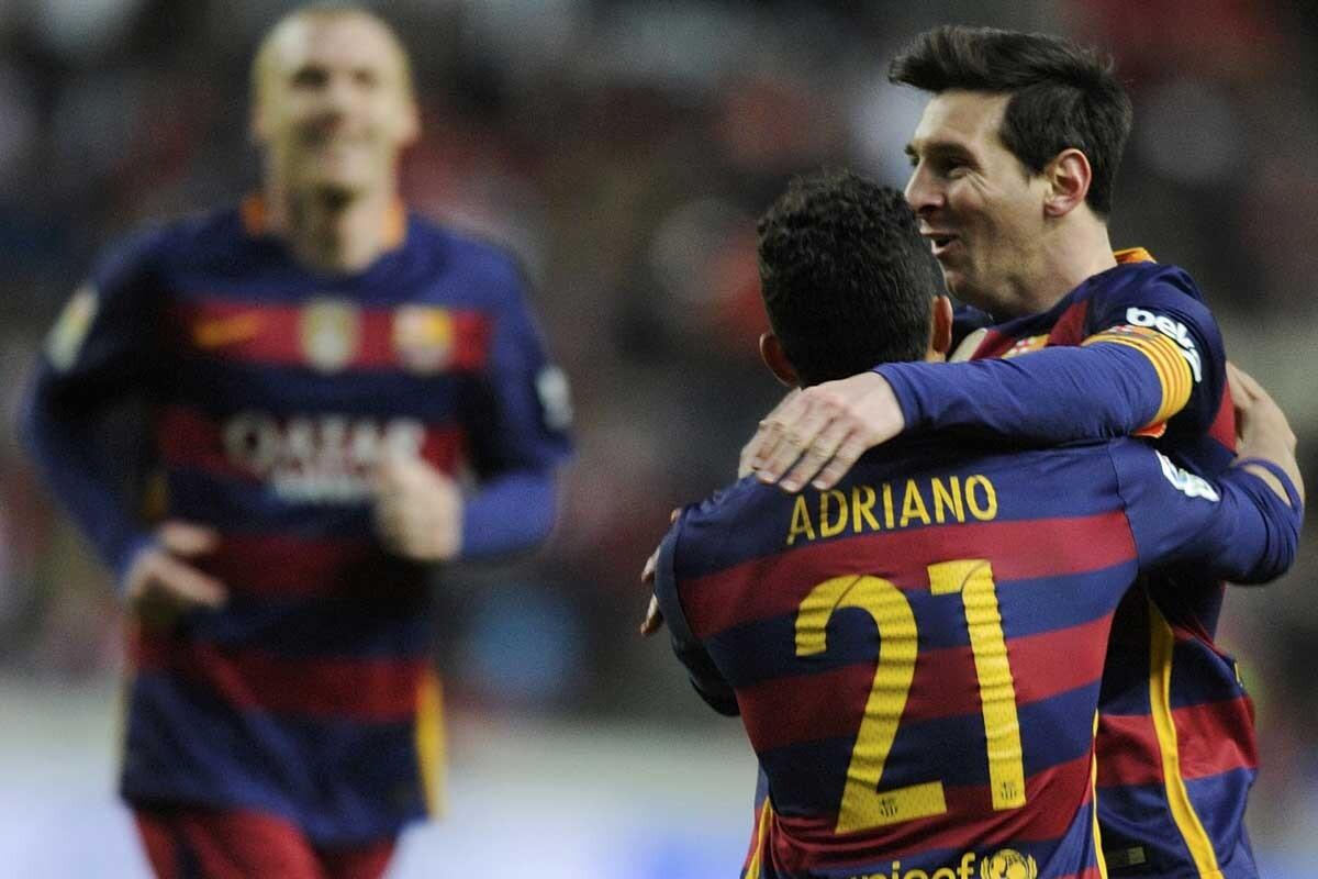 Messi es jugador del Barcelona