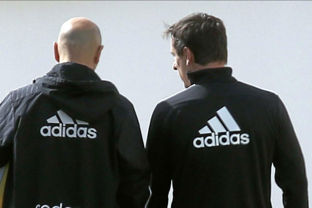 Gary Neville es entrenador del Valencia