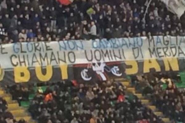Pancarta a Ronaldo
