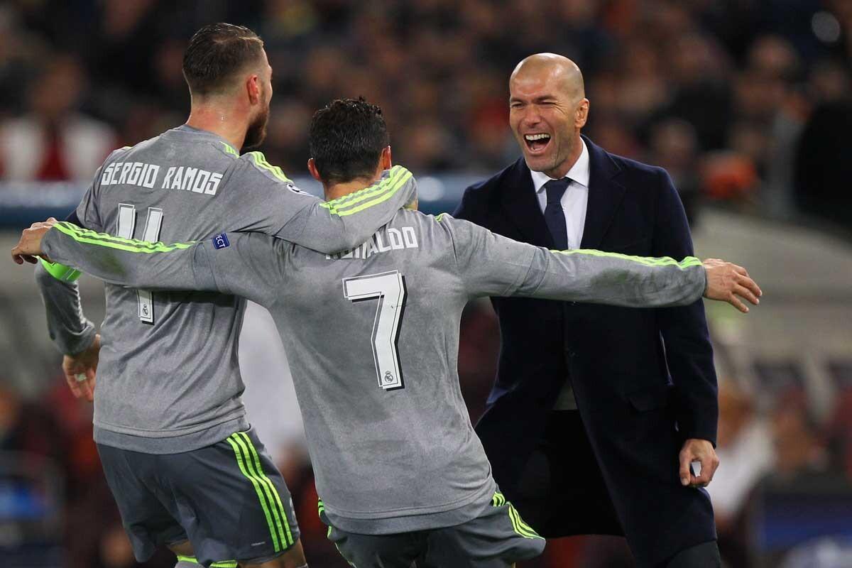 Partido Roma-Real Madrid