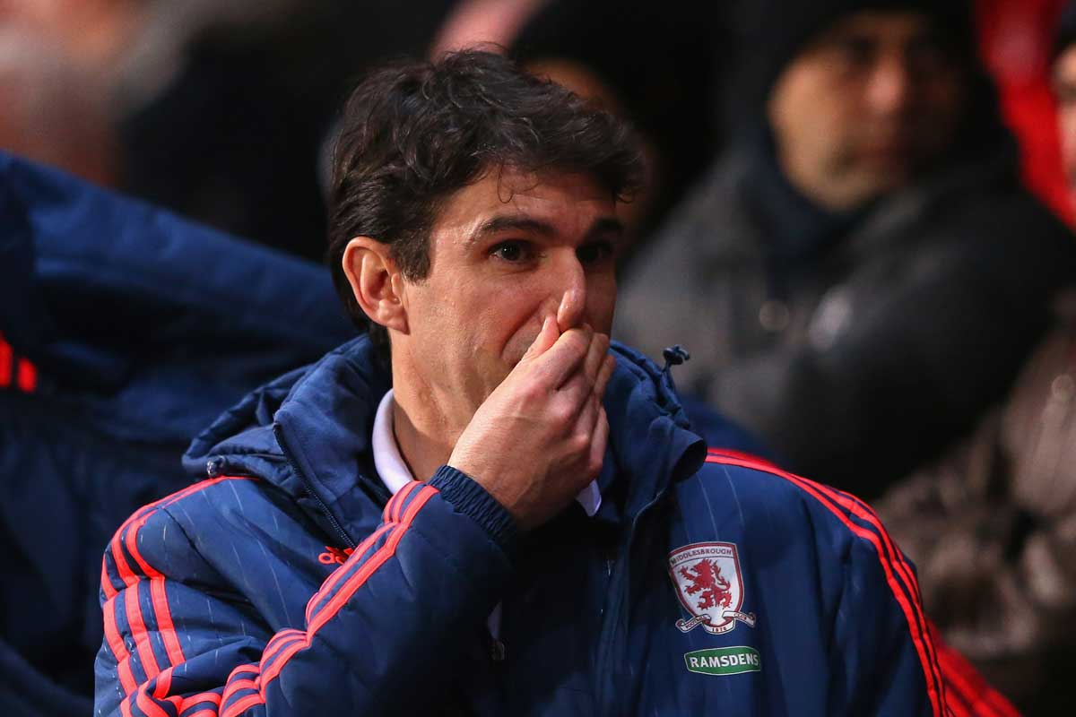 Aitor Karanka, entrenador del Middlesbrough