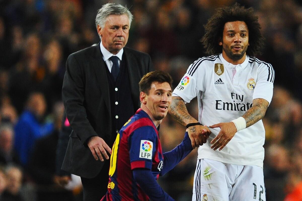 Carlo Ancelotti hace su quinela del Clásico en Sina Sports