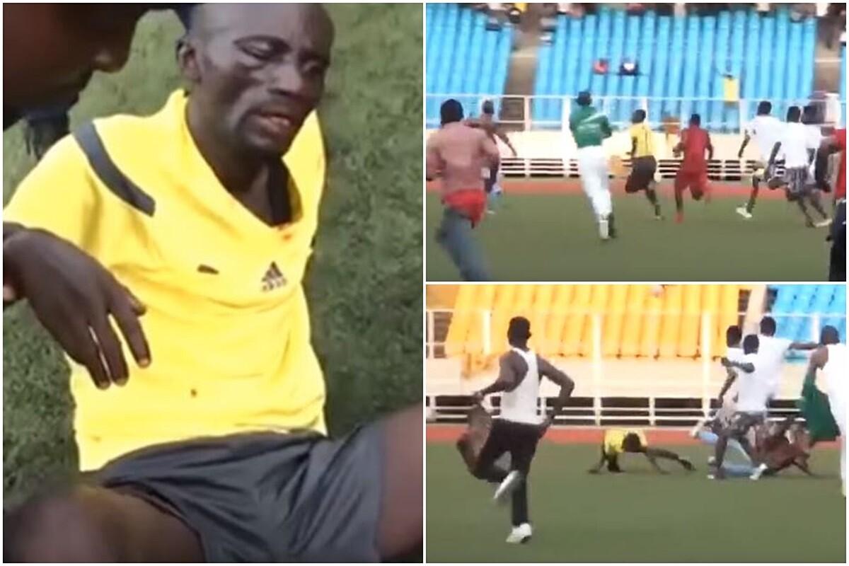 Un árbitro es linchado en el Congo
