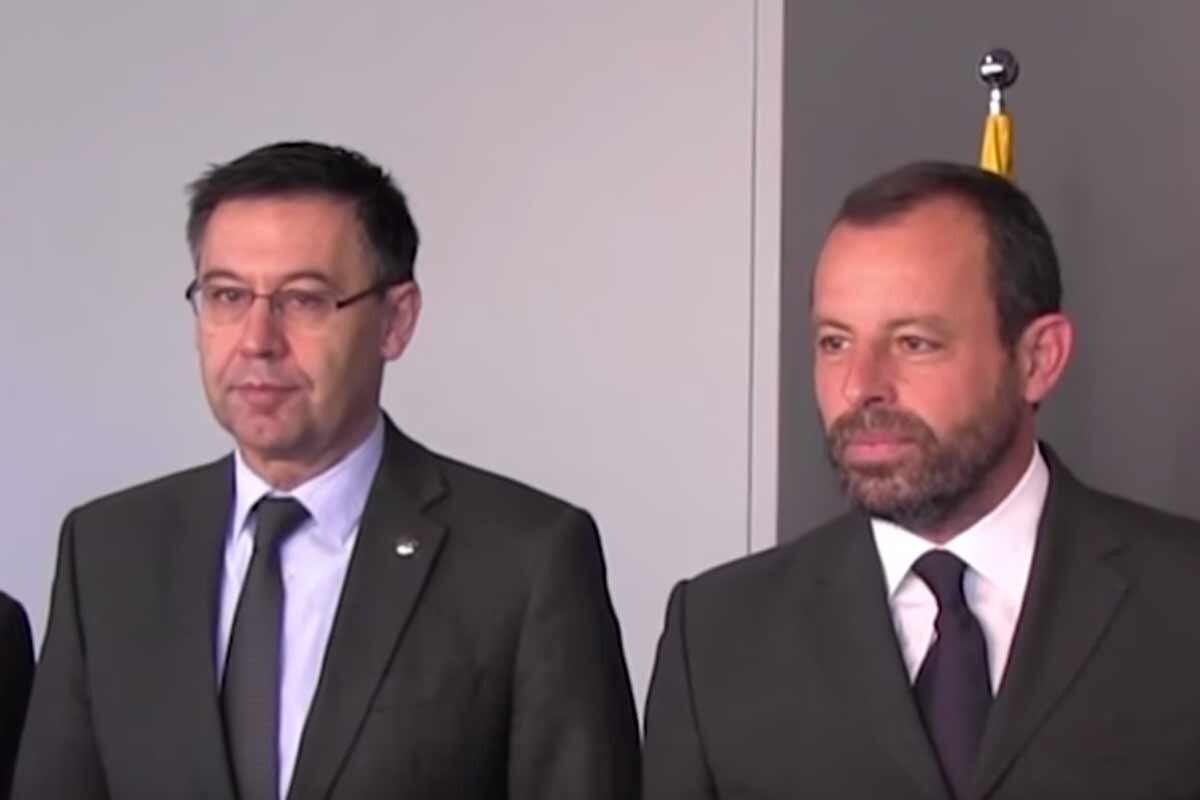 Los expresidentes del Barcelona asistieron al homenaje el último día