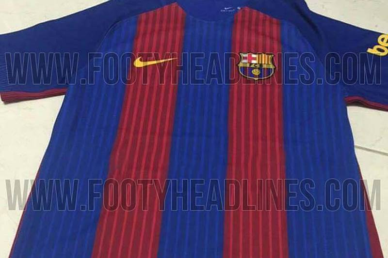 Camiseta barcelona 2016-17 sin sponsor