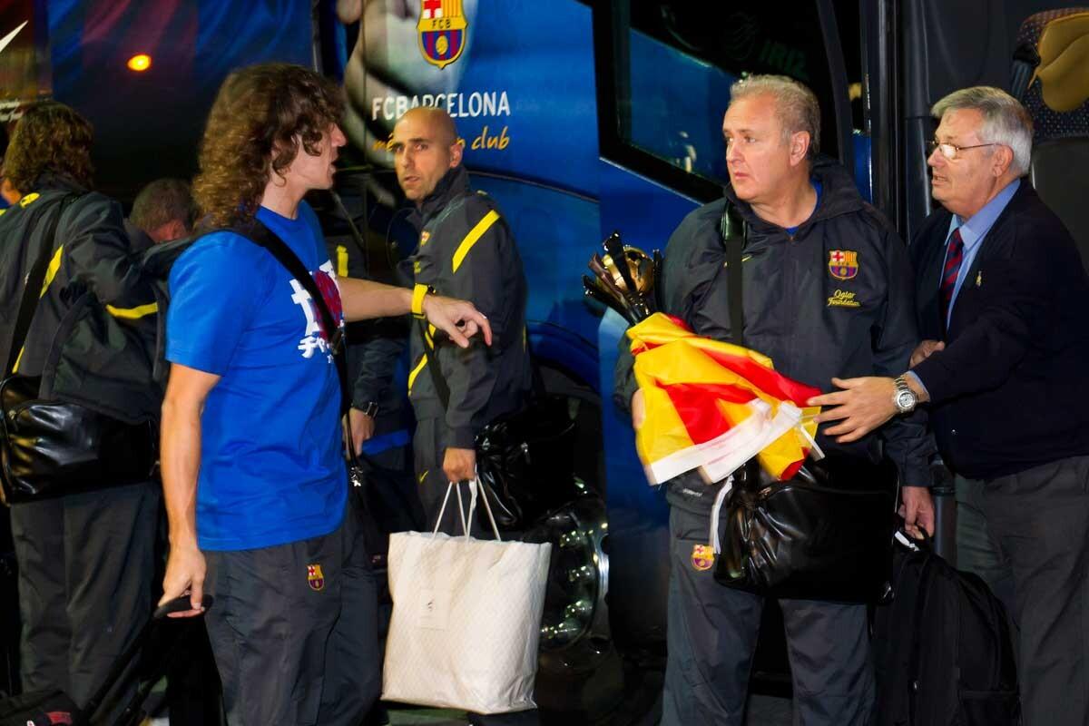 Las anécdotas de Carles Naval en sus más de 30 años como delegado del Barcelona
