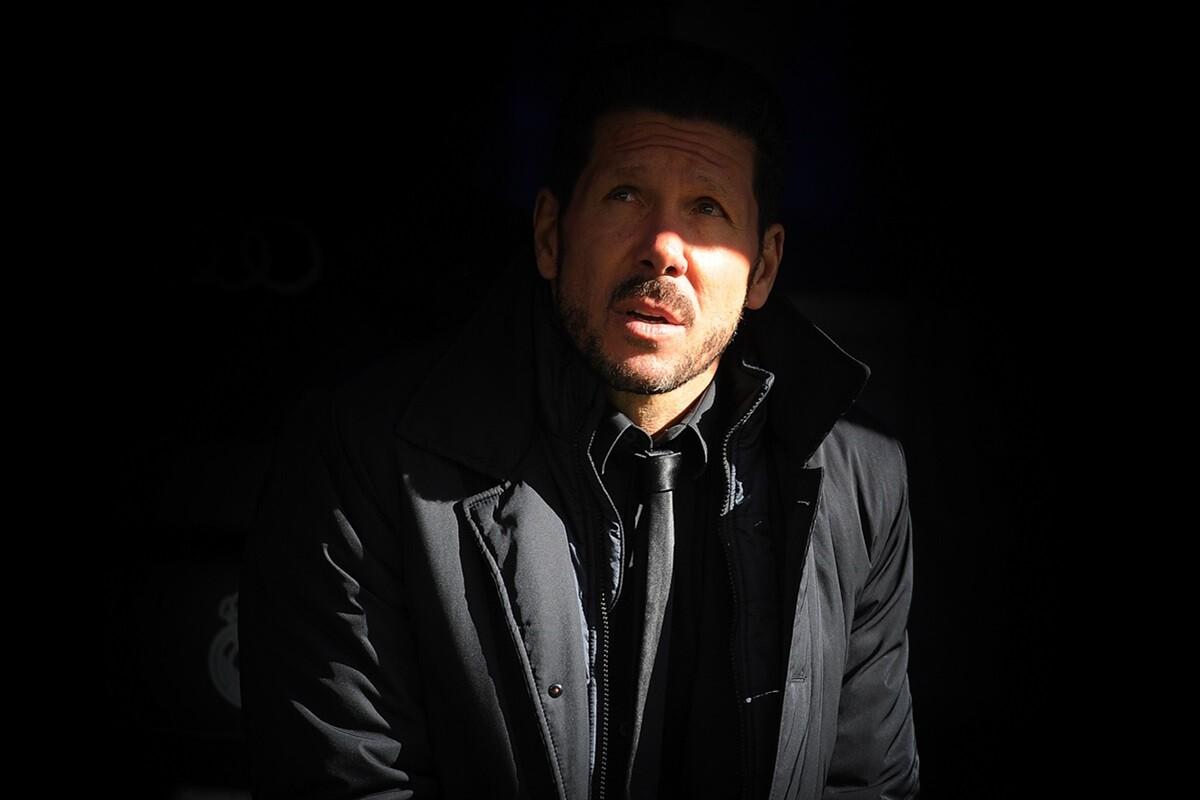 Cholo Simeone, entrevistado en la Nación