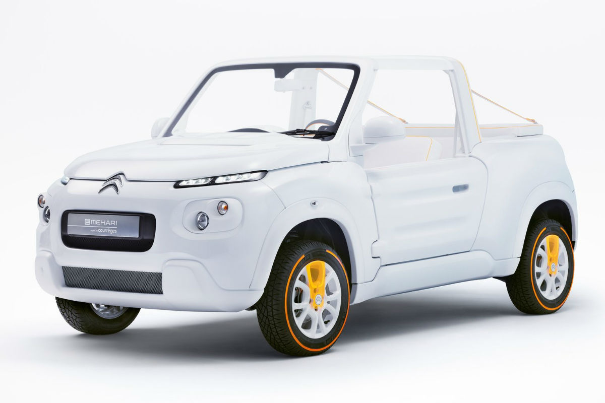 Citroen e-Mehari by Courreges Concept