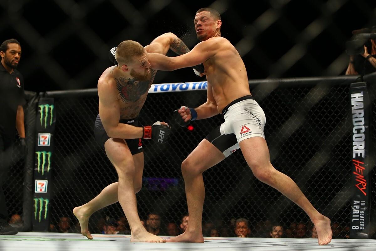 La diferencia de peso entre Connor McGregor y Nate Diaz