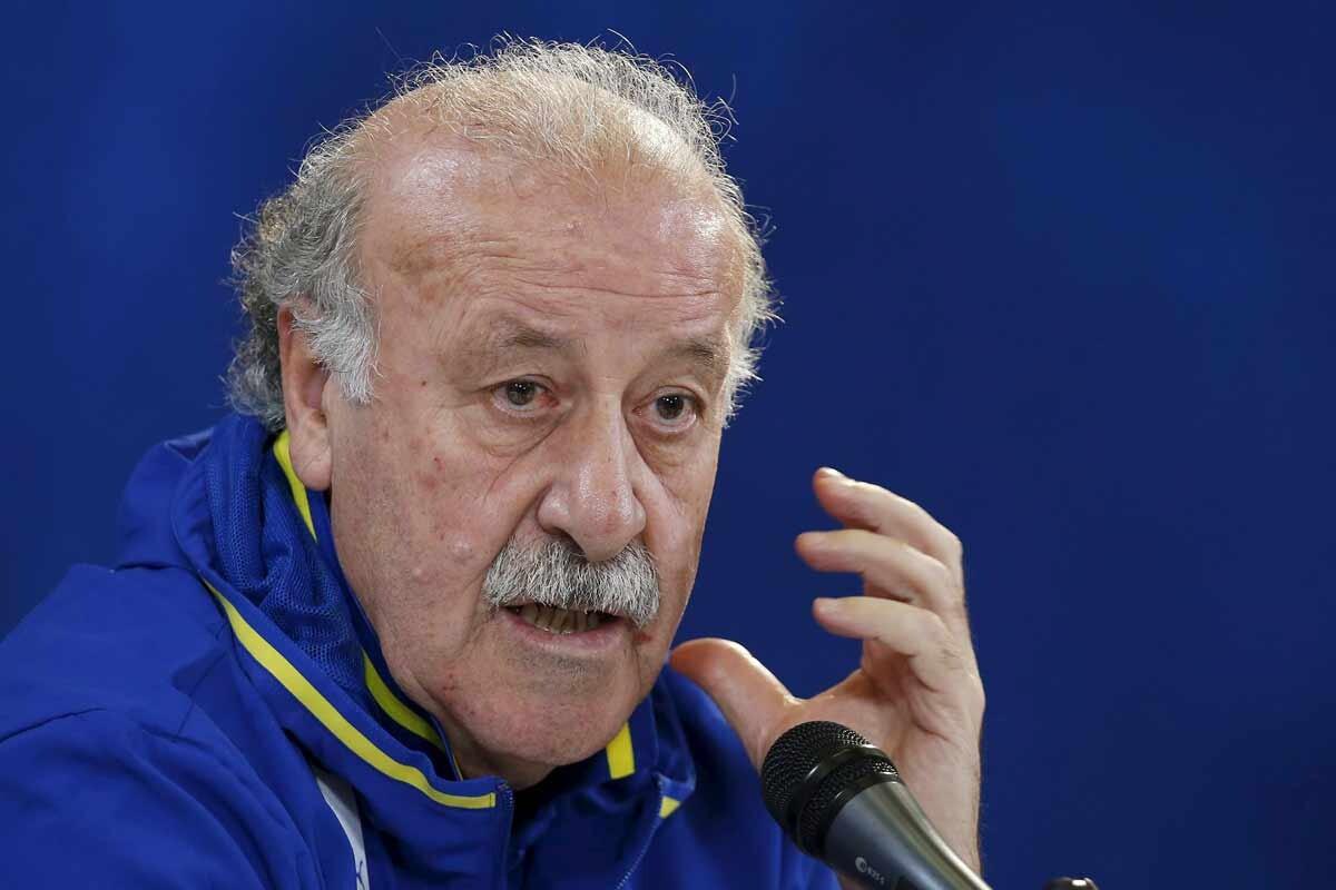Vicente Del Bosque no acabó del todo satisfecho tras el empate ante Italia